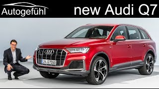New Audi Q7 Facelift REVIEW - Autogefühl