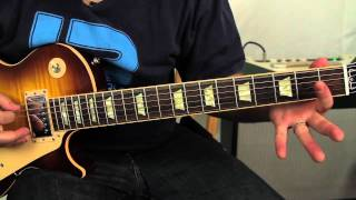 Allman Brothers - Jessica - How to play on guitar - gibson les paul