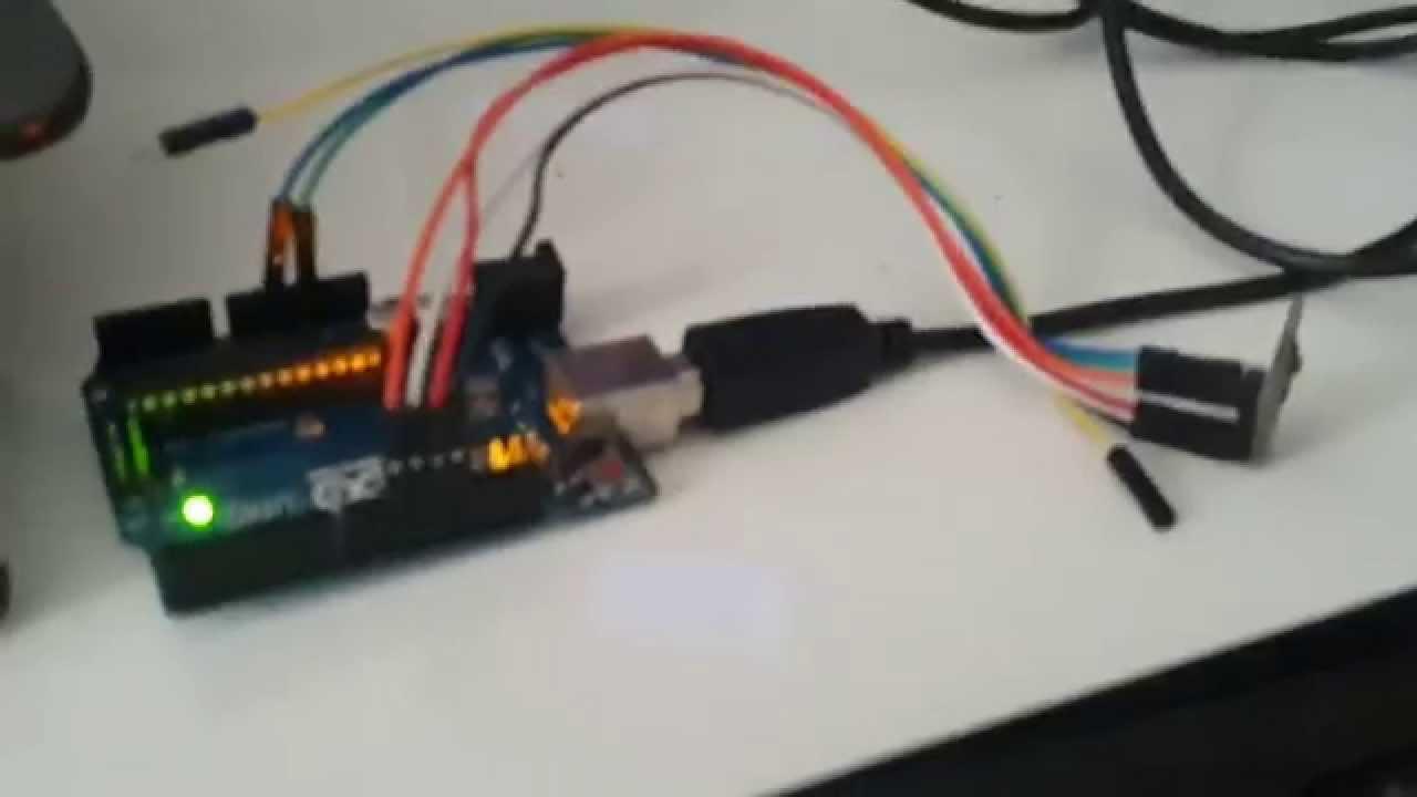 Arduino uno giyilebilir mouse projesi bölüm youtube