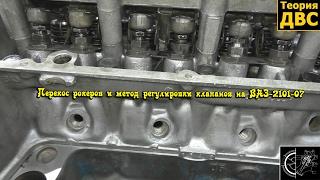 Перекос рокеров и метод регулировки клапанов на ВАЗ-2101-07