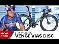 Elia Viviani's Specialized Venge Vias Disc