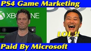 PlayStation Proud: Microsoft Pays For Marketing PS4 Games