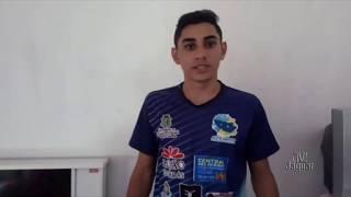 Atleta Altosantense, Anderson Boa Ventura é campeão Cearense do sub 20, nos 100 metros