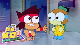 Dendy un Héroe | OK K. O.! Vamos a Ser Hereos | Cartoon Network
