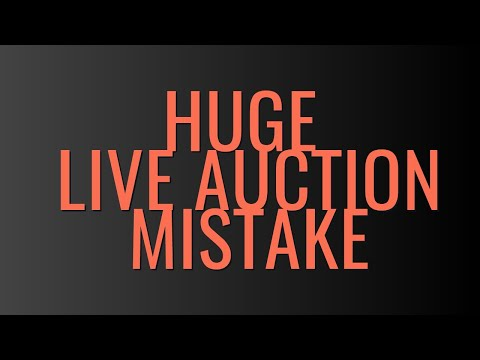 charity-live-auction-money-making-mistake-|-fundraising-auction-ideas