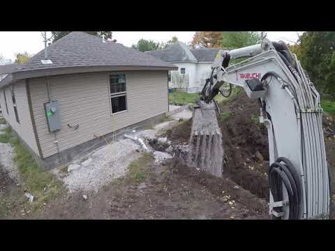 Installing Water And Sewer Lines