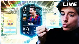 LIVE* GRINDEN NAAR 96 MESSI + WHAT IF TEAM 2 PACKS!!! || FIFA 21 Nederlands
