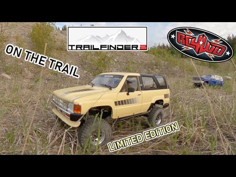 RC4WD Trail Finder 2 (limited Edition) RTRs: ON THE TRAIL - 4RUNNER And K5 BLAZER