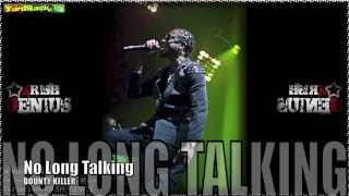 Bounty Killer - No Long Talking [Antibiotic Riddim] Sept 2012