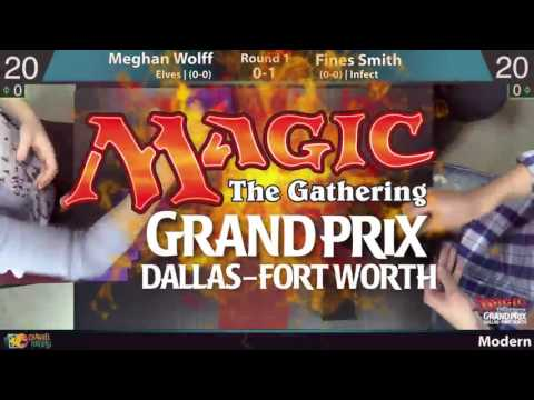 GP Dallas, Round 1 - Meghan Wolff (Elves) vs. Fines Smith (Infect)