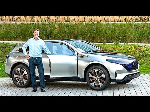 Mercedes EQ REVIEW DRIVING Mercedes Electric Car 2017 New Mercedes Concept Paris 2016 CARJAM TV