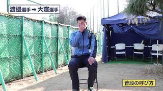 【ルーキー同士で他己紹介!!】ライオンズ・渡邉投手から大窪投手へ 2019/02/04