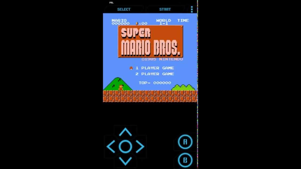 nes games for android mario