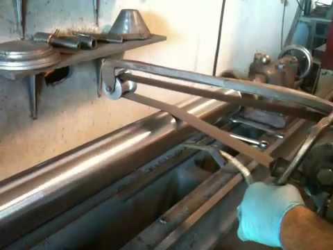 Hand Polishing Cylinder Rod Youtube