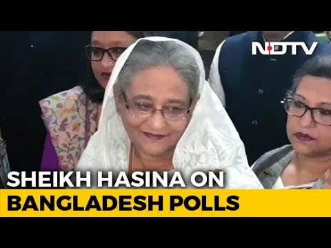 "Bangladesh PM Sheikh Hasina ""Confident"" About Election Victory"