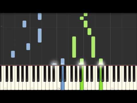 Sitting Next To You - Handsome [Piano Tutorial] (Synthesia)