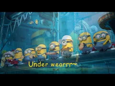 I Swear - The Minions + LYRICS | Underwear | Despicable me 2 |
