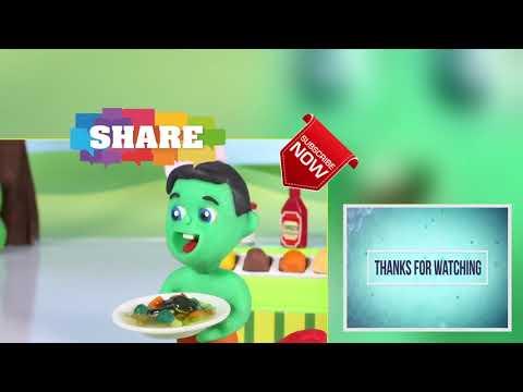 FUNNY KIDS MAKE MAGIC CARS ❤ Play Doh Cartoons For Kids