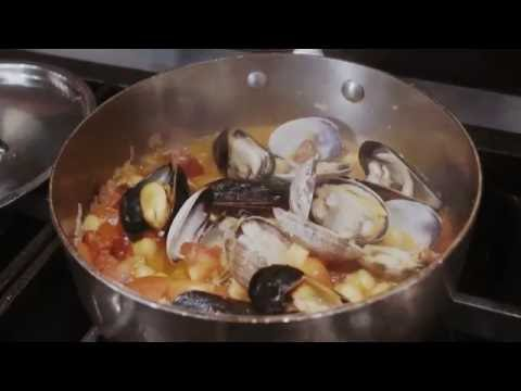 Fricassee of Mussels, Clams & Chorizo