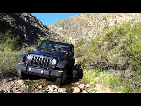 Jeeping secret canyon in Morongo Valley