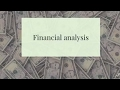 9. Financial analysis for beginners
