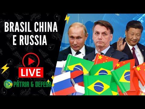 Brasil China e Rússia Bolas Da Vez