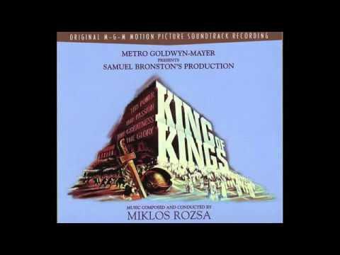 King Of Kings   Soundtrack Suite Miklós Rózsa   YouTube