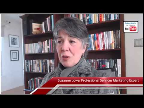 Managing agency relationships Suzanne Lowe professional services marketing video