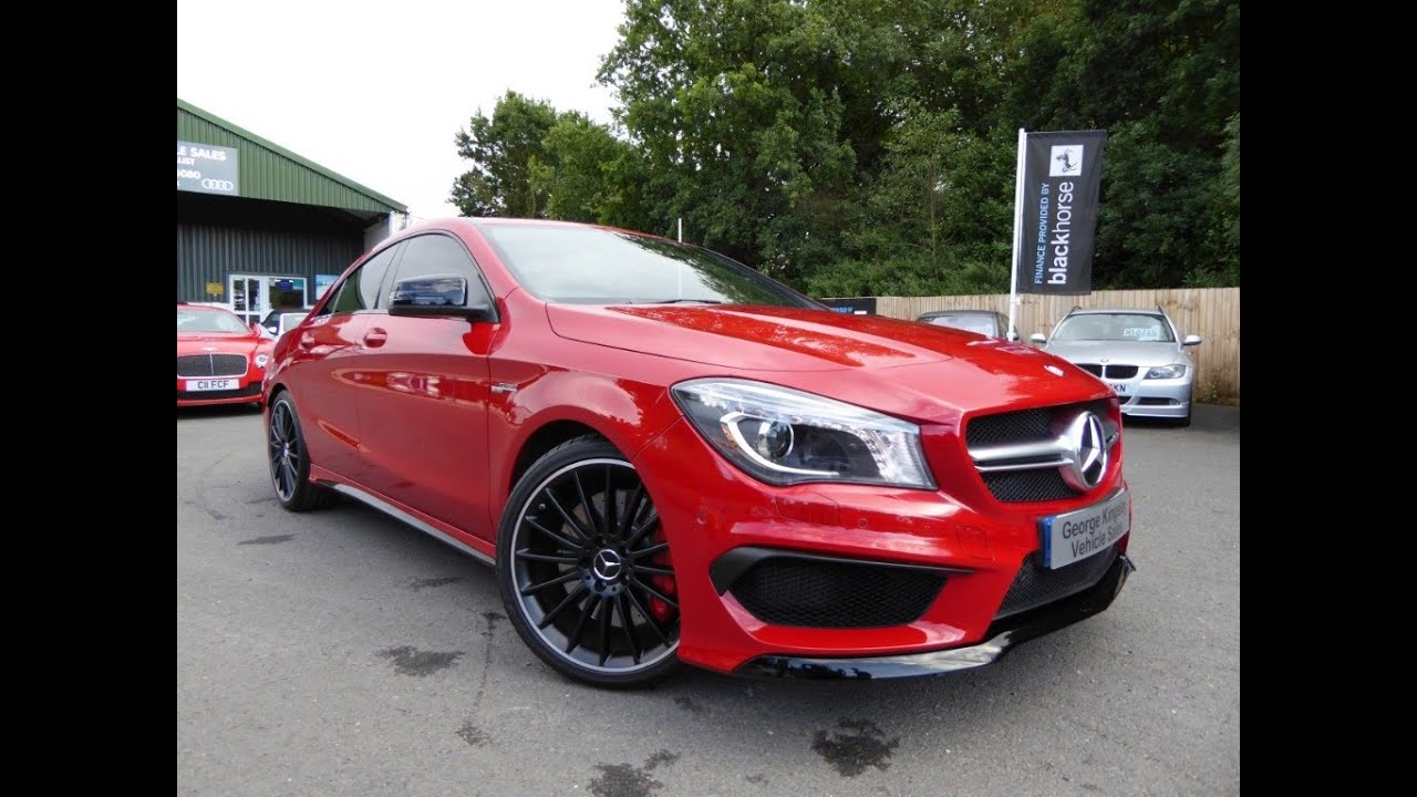 Great CLA45 AMG 4matic For Sale At George Kingsley Vehicle Sales, Colchester,  Essex   YouTube
