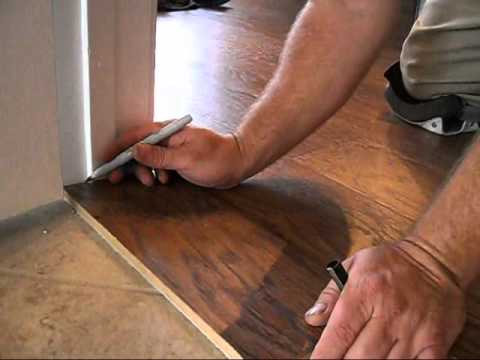 Superieur Laminate Flooring 101: Door Jambs   YouTube
