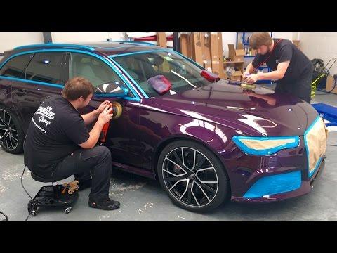 Audi RS6 Paint Protection Film & Detail