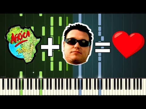 AFRICA and ALL STAR never sounded so good together on the piano