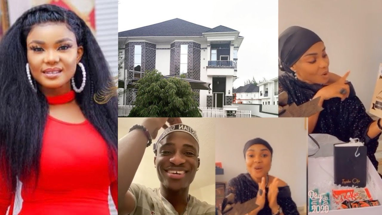 WATCH Iyabo Ojo Finally Begin To Setup Her New Lekki Duplex & Gets A Surprise Gift From Alesh Sanni