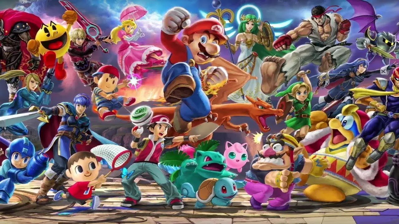 Super Smash Bros Ultimate Banner Comes To Life Trailer Nintendo Switch Youtube