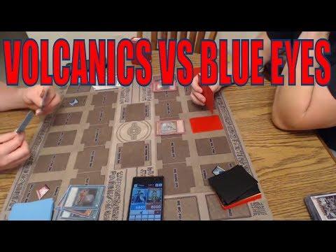*Live Duel* Volcanics vs Blue Eyes YuGiOh *Before Link Format*