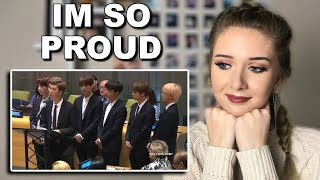 "BTS SPEECH at UNICEF: ""Youth 2030 Reaction (WOW) // ItsGeorginaOkay"