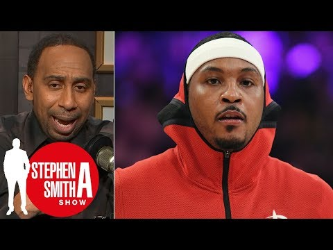 Stephen A.: Carmelo Anthony 'chose the money over winning' | Stephen A. Smith Show