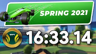 Trackmania Spring Campaign Speedrun - ALL Tracks in 16:33.14 by Wirtual
