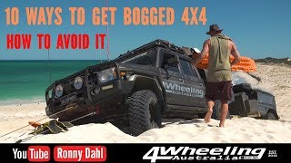 10 ways to get bogged 4x4