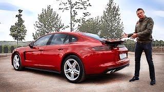 Тест-драйв Porsche Panamera (2017). В чём его плюсы?