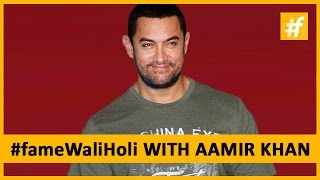 Aamir Khan Wishes For A Dry And Safe Holi - #fameWaliHoli