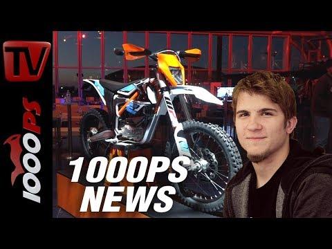 1000PS News - KTM Freeride E-XC 2018 - Was ist neu? Leistung, Reichweite, Preis