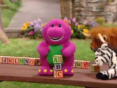 I Love You Barneys Animal Abcs Youtube