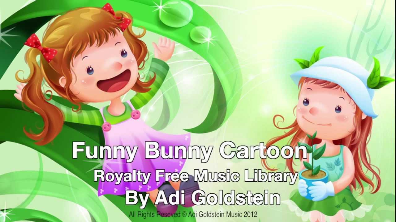 Royalty Free Music - Funny Bunny Cartoon (Children's ...