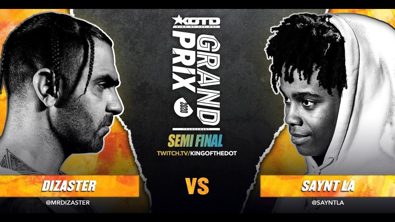Download KOTD - Rap Battle - Dizaster vs Saynt LA   #GP2020 Semi-Finals