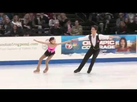 Ai Setoyama & David Botero - 2014 US Figure Skating Championships Nv Pairs FS