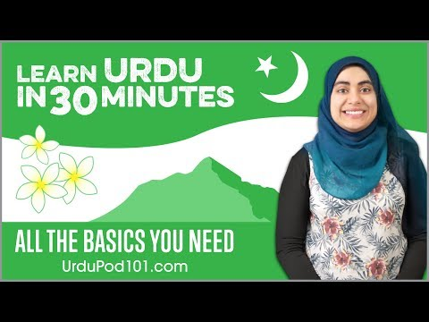 Learn Urdu in 30 Minutes - ALL the Basics You Need