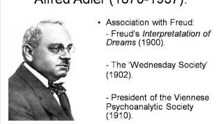 Alfred Adler: 1. Life and Times