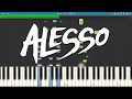 Images Alesso - Falling - Piano Tutorial