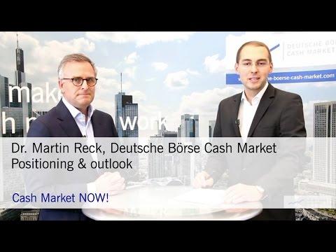 Cash Market NOW: Xetra and Börse Frankfurt Outlook